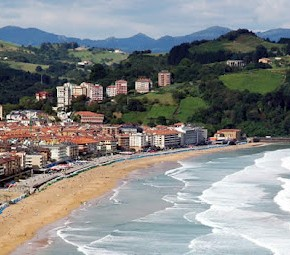 Surfspot- Guide Nord-Spanien: Surfen in Zarautz