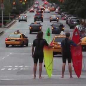 Surfen in New York? Aber klar doch!